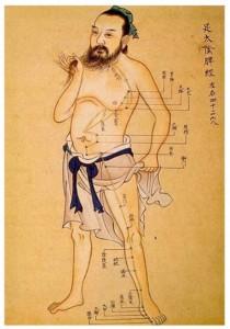 terapias con meridianos de acupuntura
