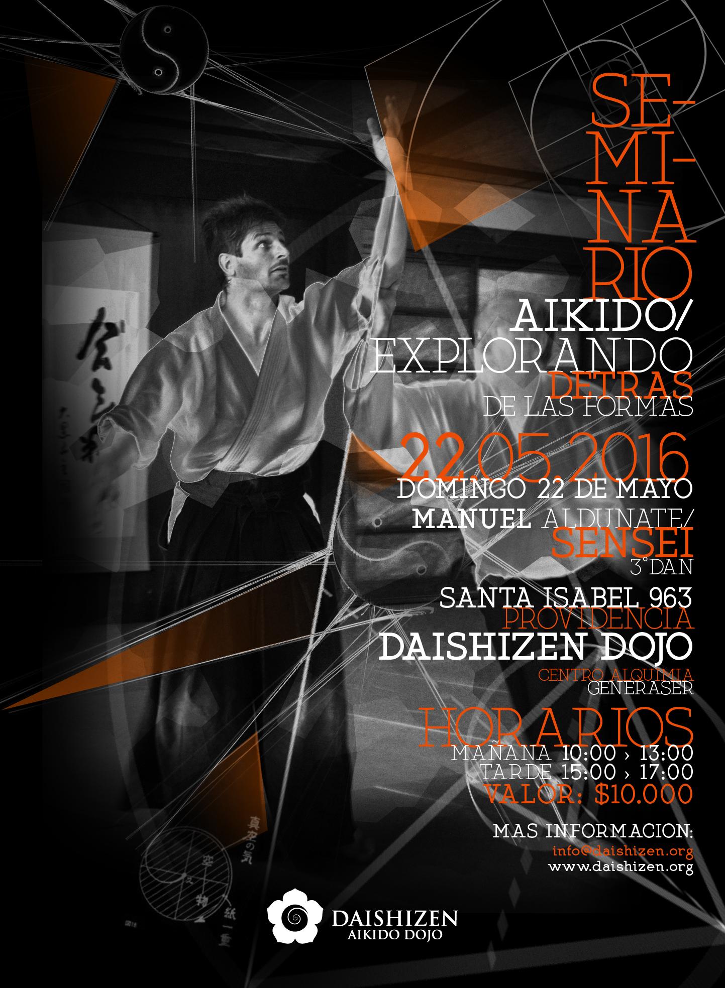 Afiche Seminario Daishizen
