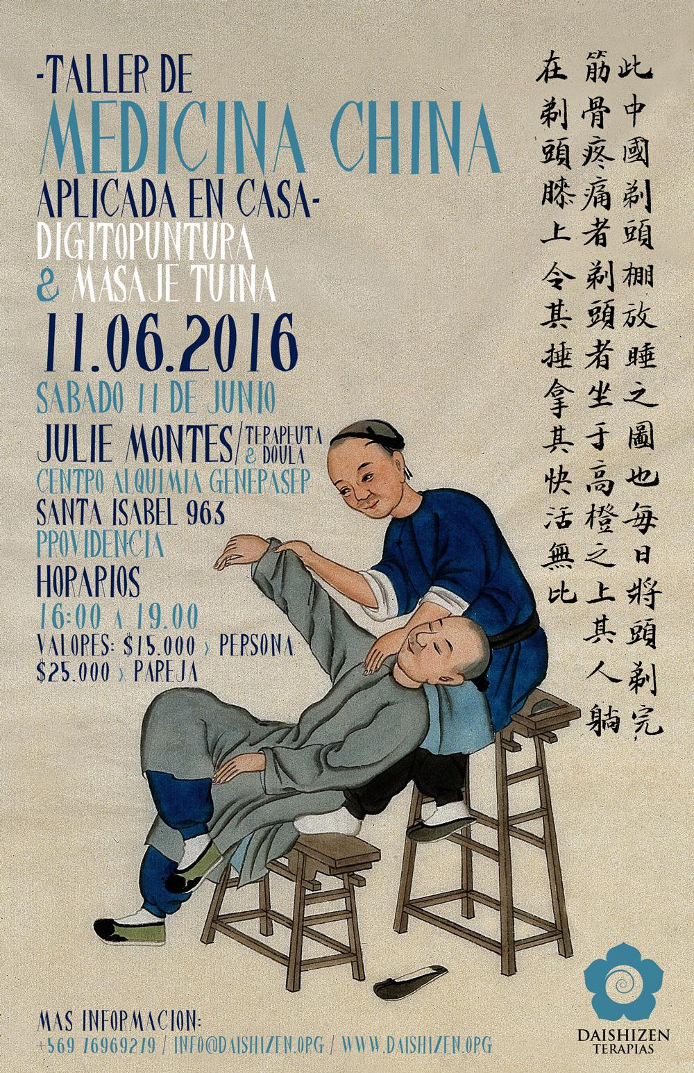 Poster Taller Medicina China
