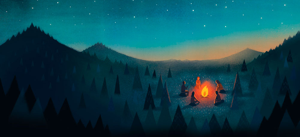 Campfire people